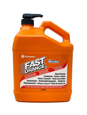 ORANGE Handreiniger 3,78L Handwaschpaste Fast Clean Microgel