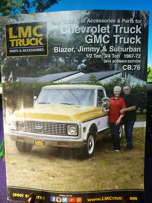 LMC TRUCK CATALOG Of Accessories & Parts-Ford Truck & Bronco