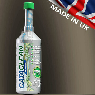 CATACLEAN PETROL CAR Exhaust System Catalytic Converter Injector Cleaner  500ml