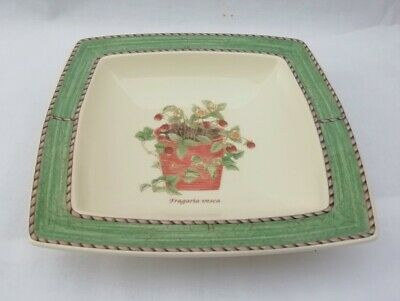 Wedgwood Sarah's Garden Sweet Dish - Fragaria Vesca - Multiple Available
