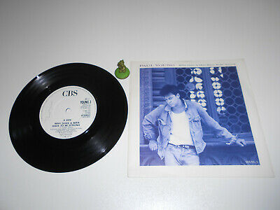 Paul Young - Why does a Man have to be Strong (1986) Vinyl 7` inch Single Vg +