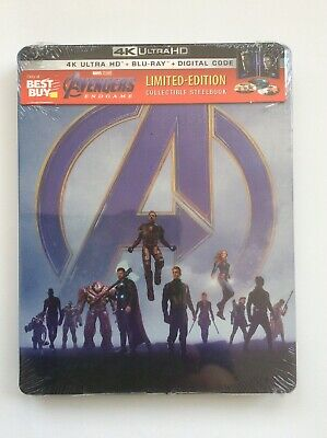 Avengers: Endgame SteelBook (4K UHD+Blu-ray+Digital)*Pre-order, 8/13, All Region