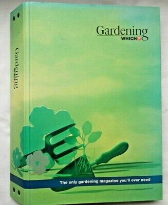 Official BINDER for GARDENING WHICH? Magazine - Holds 12 magazines