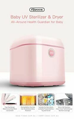 Rizees Baby UV Steriliser and Dryer, Pink