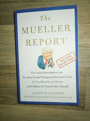 The Mueller Report by Jason Gilbert (Like New Paperback Book)