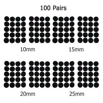 100 Pairs Dots Double - Sided Sticker Nylon Strong Self Adhesive Sewing Tools