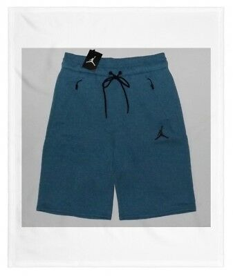 3001519c4cf Nike Men's Air Jordan JD ICON FLEECE Shorts Blue / Black 809471 301 NWT  Size 2XL