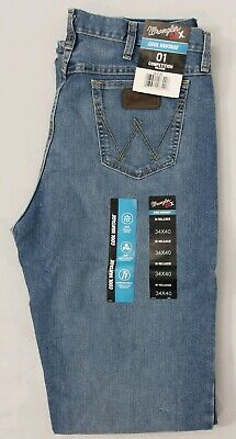 168506ee WRANGLER 20X 01 Cool Vantage Competition Jeans. mens size 34 x 40 ...