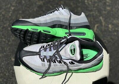 94c7429f52 NIKE AIR MAX 95 POISON GREEN MENS SIZE 10.5 2014 Release VVNDS NEON 10/10
