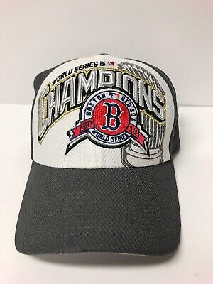 b7193c49ea347d Boston Red Sox New Era 39THIRTY 2013 MLB World Series Champions Fitted Cap  Hat
