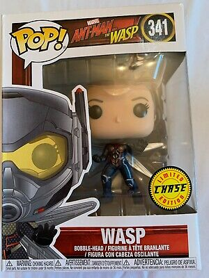 Funko POP The Wasp Unmasked Ant-Man Marvel Chase Limited Edition Figure #341 New