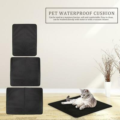 Waterproof EVA Pet Cat Litter Mat Bottom Non-Slip Cats Kitten Litter Trapper Pad