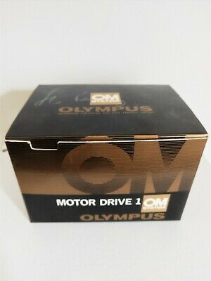 Olympus OM Motor Drive 1 in Box with Relay Cable  Control Grip 1