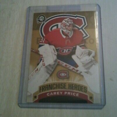 2018 19 Roy Price  G-7 Franchise Heroes Opc Canadian Tire Coast To Coast