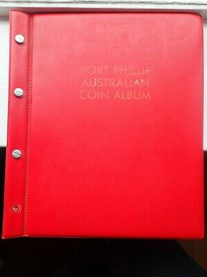 1911 - 1964 Australian  Part Penny set  45 Different coins In Coin Album