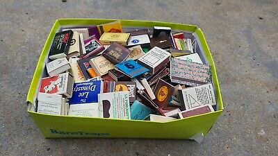Bulk Lot Of Collectable Match Boxes New And Used Approx 250