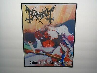 Mayhem Dawn Of The Black Hearts Sublimated Back Patch