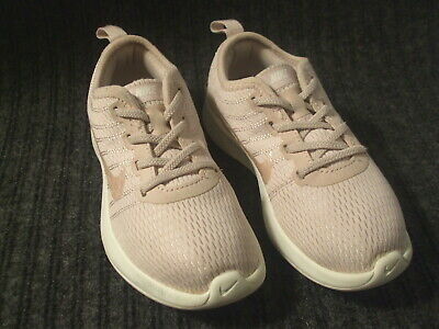 c3f271881d Toddler Girls NIKE Light Pink & Pink Gold DUALTONE RACER Running SHOES Sz  10C