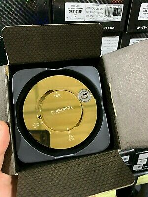 NRG Steering Wheel Quick Release Hub Lock chrome Gold SRK-101C/GD universal