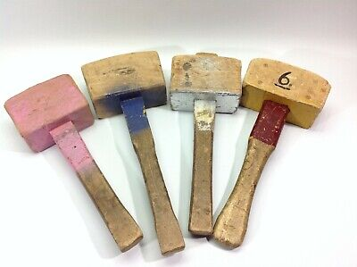Lot of Vintage Wooden Mallets