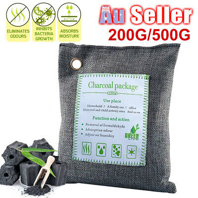 Air Purifier Bag Home Charcoal Car Odor Remover Dehumidifier Bamboo House