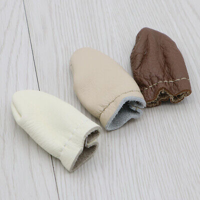 6PCS Convenient Practical Leather Felting Finger Cover Thimble for Sewing Craft