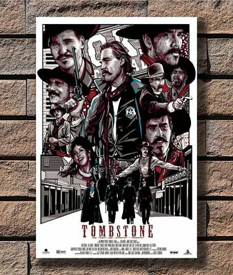 K799 Hot Poster 8x12 24x36 - Tombstone Classic Movie