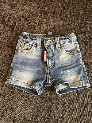 Dsquared Baby Denim Shorts 6-12 Months