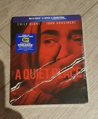 A Quiet Place - Best Buy Exclusive Steelbook (Blu-ray/DVD) BRAND NEW!!