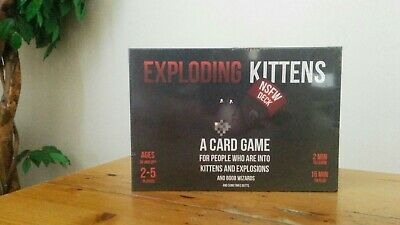 Exploding Kittens NSFW Edition SEALED - Free, Fast Postage