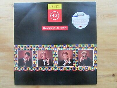 LEVEL 42 LPs x 2 ( TWO FOR THE PRICE OF ONE VG / VG 1987 & 1988 )