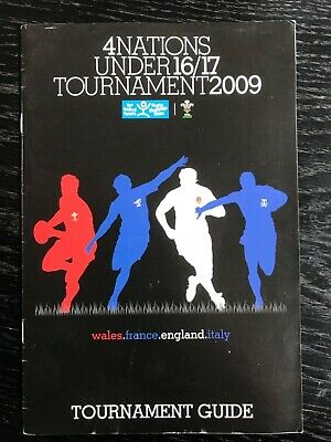 4 Nations under 16/17 Rugby Tournament Guide, Lee, Jenkins, Sinckler, Daly 2009