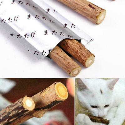 Cat Snack Matatabi Chew Catnip Stick Teeth Molar Cleaning For Pet Brush Toy U9K2