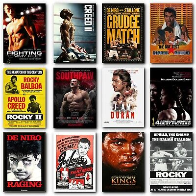 Poster Classic Boxing Posters Boxing Movie Posters Boxer Poster Film Poster Ali