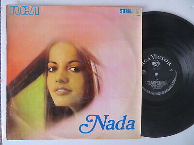 Nada Selftitled Rare Orig Israeli Press LP with Laminated Cover & Black Labels