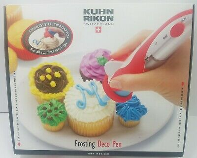 Cake Decorating Kit Kuhn Rikon Frosting Deco Pen Switzerland Baking Tool bake