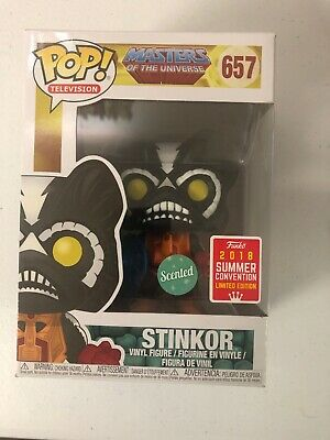 Funko Pop! Masters of the Universe MOTU Stinkor 657 Scented 2018 SDCC Exclusive