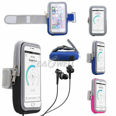 For Cell Phone Sport Armband Running Jogging Gym Arm Band Pouch Holder Bag Case