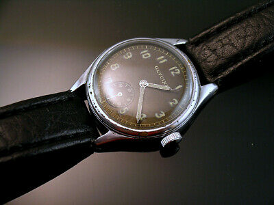 GLYCINE DH , RARE MILITARY WRISTWATCHES for GERMAN ARMY, WEHRMACHT of WWII