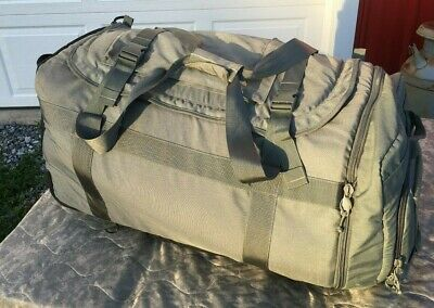 Thin Air Gear Us Army Military Rolling Duffel Defender Deployment Bag Backpack