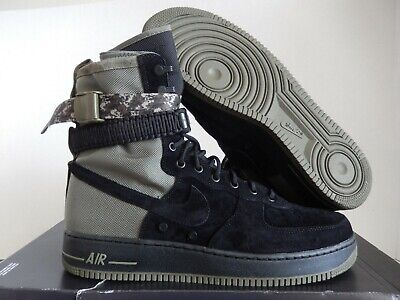 4810682da5 NIKE AIR FORCE 1 AF1 SF Special Field Mens High Boot Shoes Black ...