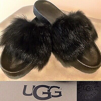3d5de1869d8 UGG ROYALE SLIPPERS/SANDALS 1018875 Authentic New* Sz 11 Seal ...