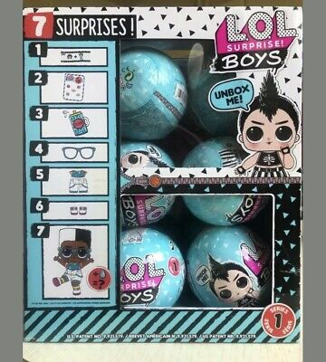 LOL Surprise! Boys! ~ Free Shipping ~ 1 Ball ~ 100% Authentic ~ L.O.L. ~ IN HAND