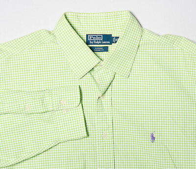 Polo Lauren Chemise Vichy Coupe Classique Hommes Oxford cabana Ralph I7bfyYvg6
