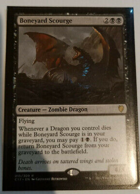 Overig Boneyard Scourge ~ Commander 2017 ~ MINT/NearMint ~ Magic The Gathering Magic: The Gathering, MTG)