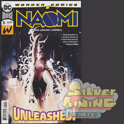 NAOMI #5 1ST PRINT COSTUME REVEAL DC COMICS SOLD OUT Bendis Walker Campbell