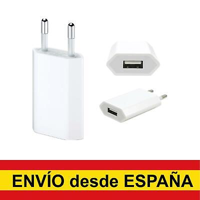 Cargador de pared adaptador corriente 1.2A USB para Iphone smartphone Android