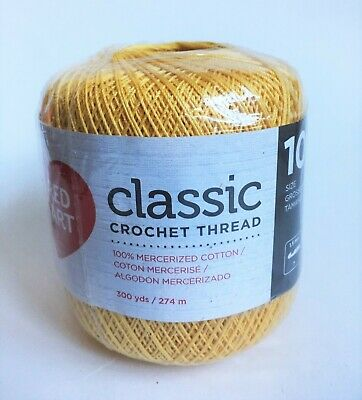 Red Heart Classic Crochet Thread Size 10 Natural 139 226 949