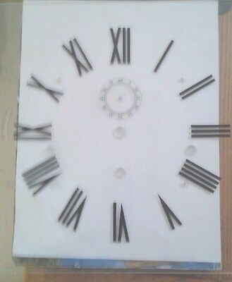 Kieninger clear  Acrylic grandfather  clock dial 290X290 for-KSU-RSU movement