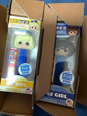 Funko Pop! PEZ Girls - Funko Shop Exclusive 2 Pack Limited Edition. On Hand!!